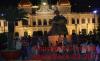 Saigon bei Nacht - Rathaus