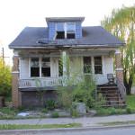 ...Detroit - der Zahn der Zeit nagt kräftig an seiner Substanz...