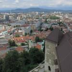Blick über Ljubjana