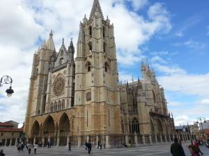 Die Kathedrale von León